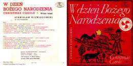 Superlimited Edition  CD Jerzy Kolaczkowski. NIEWIADOMSKI. W DZIEN BOZEGO NARODZENIA. - Chants De Noel