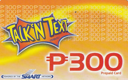 "PHILIPPINES - Talk""n Text, Piltel Prepaid Card P 300, Exp.date 30/06/04, Used - Filippine"