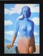 Art / Peinture,tableau / Le Domaine Enchanté ( Détail) / Magritte ( Femme Nue ) - Pintura & Cuadros