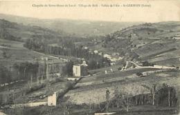 - Loire -ref-B63- Saint Germain Laval - St Germain Laval - Chapelle N D De Laval - Village Debaffi - Vallée De L Aix - - Saint Germain Laval