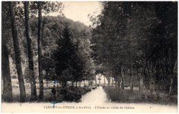 21 LUSIGNY-sur-OUCHE - L'Ouche Et L'allée Du Chateau - Sonstige Gemeinden