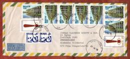 Luftpost, Tag Des Diplomaten U.a., Sao Paulo Nach Mainz 1976 (80080) - Brazilië