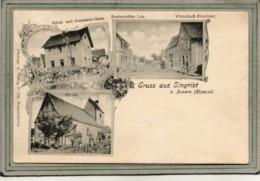 CPA - Environs De SAVERNE (67) - SINGRIST - Multivues - Mairie-Ecole, Eglise, Restaurant Lux - 1900 - Frankreich