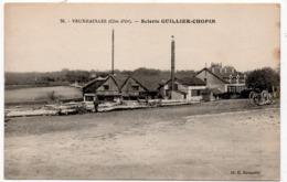 Veuxhaulles : Scierie Guillier-Chopin (cliché R. Rousselle, N°76) - Autres Communes