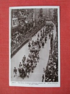 The Royal Process Through London  1911----------- RPPC Ref   3652 - Royal Families