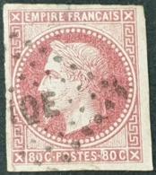 Colonie Française  N° 10 Avec Oblitération Losange MQE  Etat Bien - Napoleon III