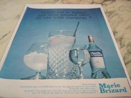 ANCIENNE PUBLICITE 3 MANIEREES POUR LA BOIRE BRIZARD 1966 - Alcohols