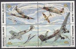 Marshall Islands 1990 Yvertn° 312-315 *** MNH Cote 6 Euro Avions Airplanes Vliegtuigen - Marshall