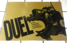 Dossier De Presse DUEL Steven Spielberg Dennis Weaver Universal Photos Synopsis Distribution - Pubblicitari