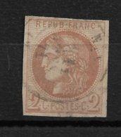 France 40B. 2°choix Aminci. Cote 330€ - 1870 Uitgave Van Bordeaux