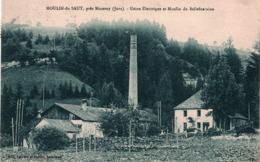 CP MOULIN DU SAUT, Près NOZEROY - Usine électrique Et Moulin De Bellefontaine - Autres Communes