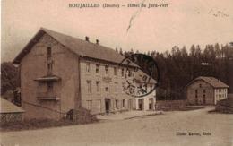 CP BOUJAILLES - Hôtel Du Jura-Vert - Autres Communes