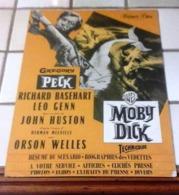 Dossier De Presse Moby Dick Gregory Peck Richard Basehart John Huston Orson Welles Warner Bros - Werbetrailer