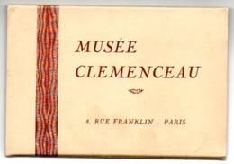 75 - Paris / Musée CLEMENCEAU : Pochette 7 Cartes Postales Et Guide De Visite. - Musées