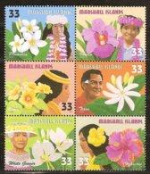 Marshall Islands 1999 Yvertn° 1098-1103 *** MNH Cote 6 € Flore Fleurs Bloemen Flowers - Marshall