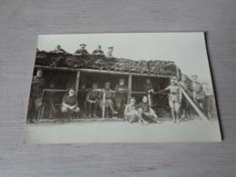 Militair ( 149 )  Militairen  Soldaat  Soldats  Soldat  Armée  Leger - Carte Photo  Fotokaart - Personnages