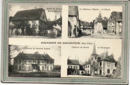CPA - DACHSTEIN (67) - Multivues - Aspect De L'Hôtel De France Et Des 3 Chateaux En 1928 - France