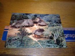 148678 KENYA  AFRICAN RURAL SCENE   OLD POSTCARD CARTOLINA - Kenia