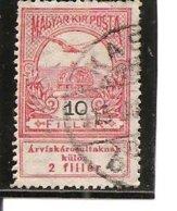 Hungría-Hungary Nº Yvert  111 (usado) (o) - Hungría