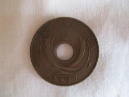 British East Africa: 5 Cents 1937 - Colonie Britannique