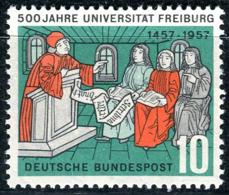 BRD - Mi 256 - ** Postfrisch (A) - 10Pf      600 Jahre Uni Freiburg - Nuovi