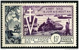 Cote Des Somalis (1954) PA N 24 * (charniere) - Côte Française Des Somalis (1894-1967)