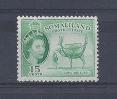 """SOMALILAND...QUEEN ELIZABETH II.(1952-NOW.).."""" 1953 """"....15c....SG139.....MNH. - Somalilandia (Protectorado ...-1959)"""