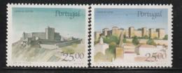 PORTUGAL - N°1709/10 ** (1987) Châteaux  (VI) - 1910-... República