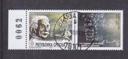 Bosnia And Herzegovina Republika Srpska 2004 The 125 Years Of Birth Of Albert Einstein Used - Albert Einstein