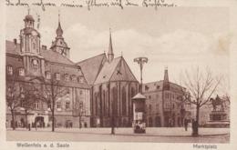 Weissenfels A. D. Saale * Markplatz, Stadtteil * AK1059 - Weissenfels