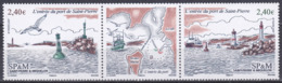 St. Pierre Und Miquelon 2007 Landschaften Landscapes Transpor Hafen Habour Leuchttürme Lighttowers, Mi. 989-0 ** - Unused Stamps