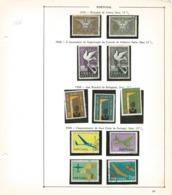 TIMBRES - STAMPS-  SELLOS - FRANCOBOLLI - PORTUGAL - 1959 / 1960 -  4 SÉRIES DE TIMBRES OBLITÉRÉS - Oblitérés