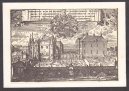 105537/ BILZEN, De Landcommanderij Alden Biesen, De Gebouwen Van De Commanderij Bernissem In 1700 - Bilzen