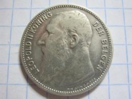 1 Franc 1904 (NLD) - 1865-1909: Leopold II