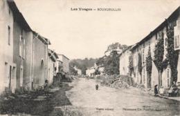 88 Bouxurulles Cpa Carte Animée Edit Voirin Correspondance 1918 - France
