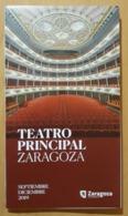 PROGRAMA TEATRO PRINCIPAL ZARAGOZA. - Programas