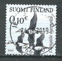Finlande 2017 Harelde Clangula Hyematis Oblitéré ° - Finlande
