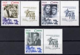 1998 ITALIE  N** 2338 A 2340  MNH - 1946-.. République