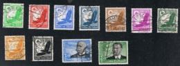 1934 Kompletter Jahrgang Gut Gestempelt Mi DR 529 - 564 Sn DE C46 - B67 Yt DR PA43 - 521 Sg DR 526 - 559 S. Scan - Germania