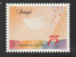 PORTUGAL - N° 1983 ** (1994) Révolution Des Oeillets - 1910-... Republic