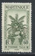 Martinique YT Taxe 19 XX / MNH - Martinique (1886-1947)