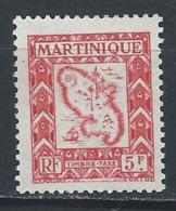 Martinique YT Taxe 34 XX / MNH - Martinique (1886-1947)