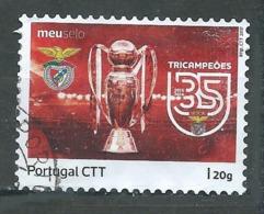 Portugal 2017 Benfica Lisbonne Tricampeoes Oblitéré ° - 1910-... République