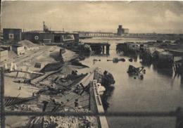 Cpa Dunkerque, Port, Destruction 1940-45, Nouvelle écluse - Dunkerque