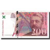France, 200 Francs, Eiffel, 1996, TTB+, Fayette:75.2, KM:159a - 1992-2000 Ultima Gama