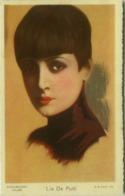 CHOCOLATE TALMONE - LIA DE PUTTI - ACTRESS - PARAMOUNT FILMS - ADVERTISING POSTCARD 1920s - EDIT G.B. FALCI  (BG480) - Werbepostkarten