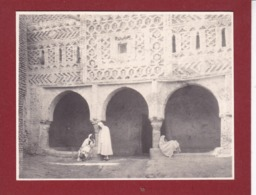 TOZEUR Tunisie Septembre 1923 Photo Amateur Format Environ 5,5 X 3,5 - Orte