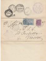 ESPRESSO 1928 C.50+1,25 TIMBRO CAPUA AMBULANTE (IX1457 - Marcofilía