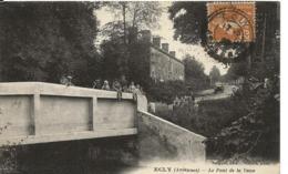 Ardennes  ECLY Le Pont De La Vaux Animation  Cachet Perlé Facteurs Boîtiers   .. ..G - Other Municipalities