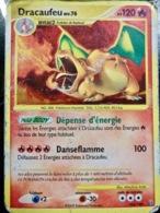 CARTE POKEMON _ DRACAUFEU Niv 76 _ 120 PV _ 2009 - Pokemon
